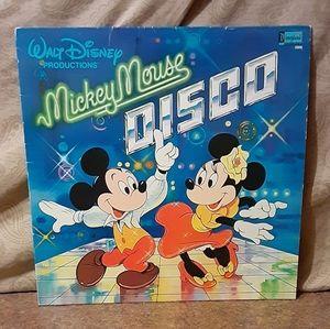 Vintage 1979 Walt Disney Mickey Mouse Disco Vinyl